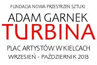 """Wystawa rzeźby artystycznej pt. """"Turbina"""" autorstwa Adama Garnka"""