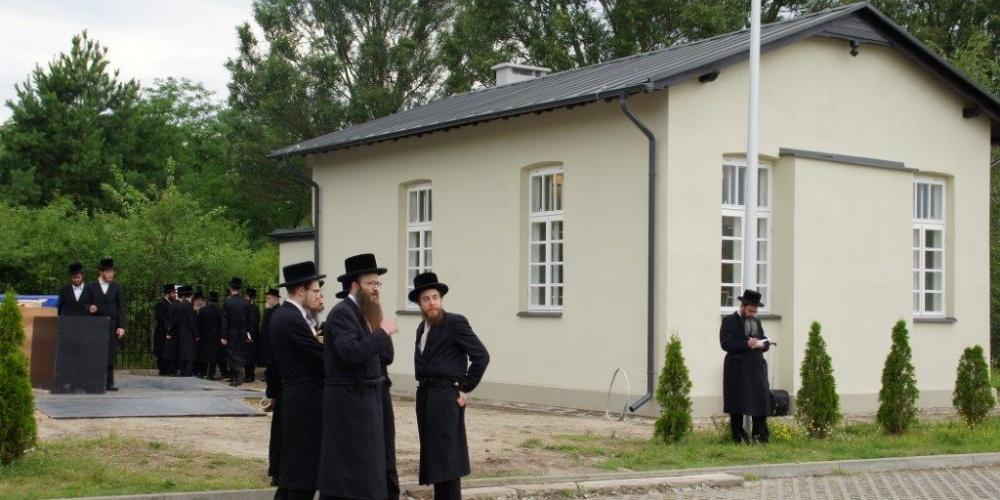 Relokacja i uroczyste otwarcie Bożnicy Herszla Zagajskiego