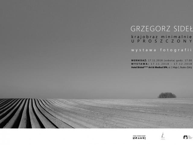 """Grzegorz Sideł """"Krajobraz minimalnie uproszczony"""" (17.11.2018-17.12.2018)"""