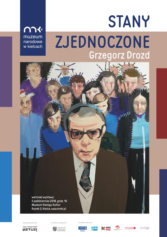 Wystawa Grzegorza Drozda w Muzeum Dialogu Kultur w Kielcach (05.10-30.11.2018)