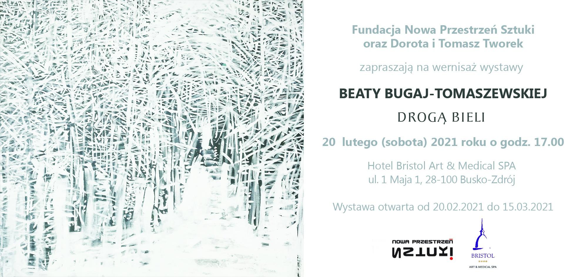 """Drogą bieli"" Beata Bugaj-Tomaszewska"